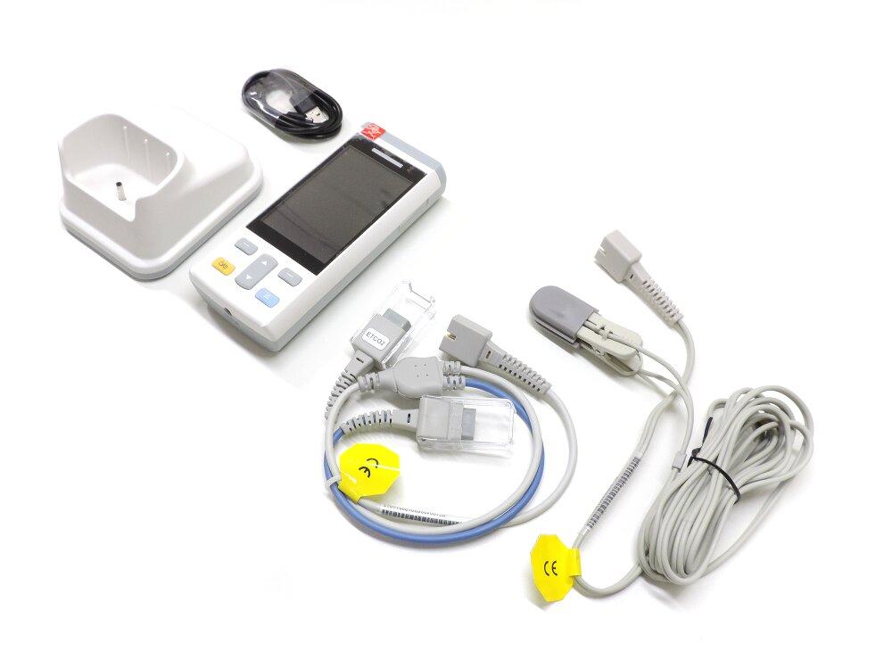 Monitor Veterinário Portátil R200 Vet - Oxicapnógrafo Veterinário