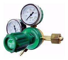 Regulador de alta vazão p/ oxigênio