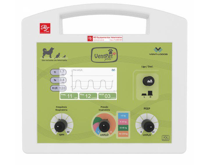 Ventilador Mecânico Veterinário - VentPet Plus