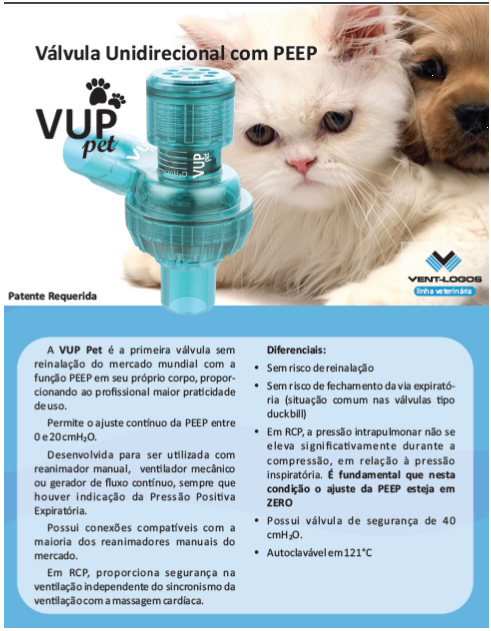 Vup - PET Válvula Unidirecional