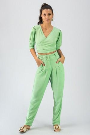 Calça  Cinto Verde