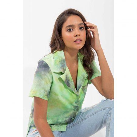 Camisa Tie Dye Limão
