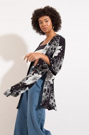 Kimono Estampa Floral PB