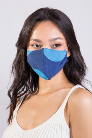 Máscara Poá Azul
