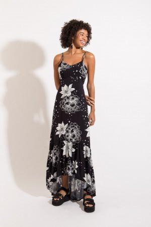 Vestido Midi Floral Pb