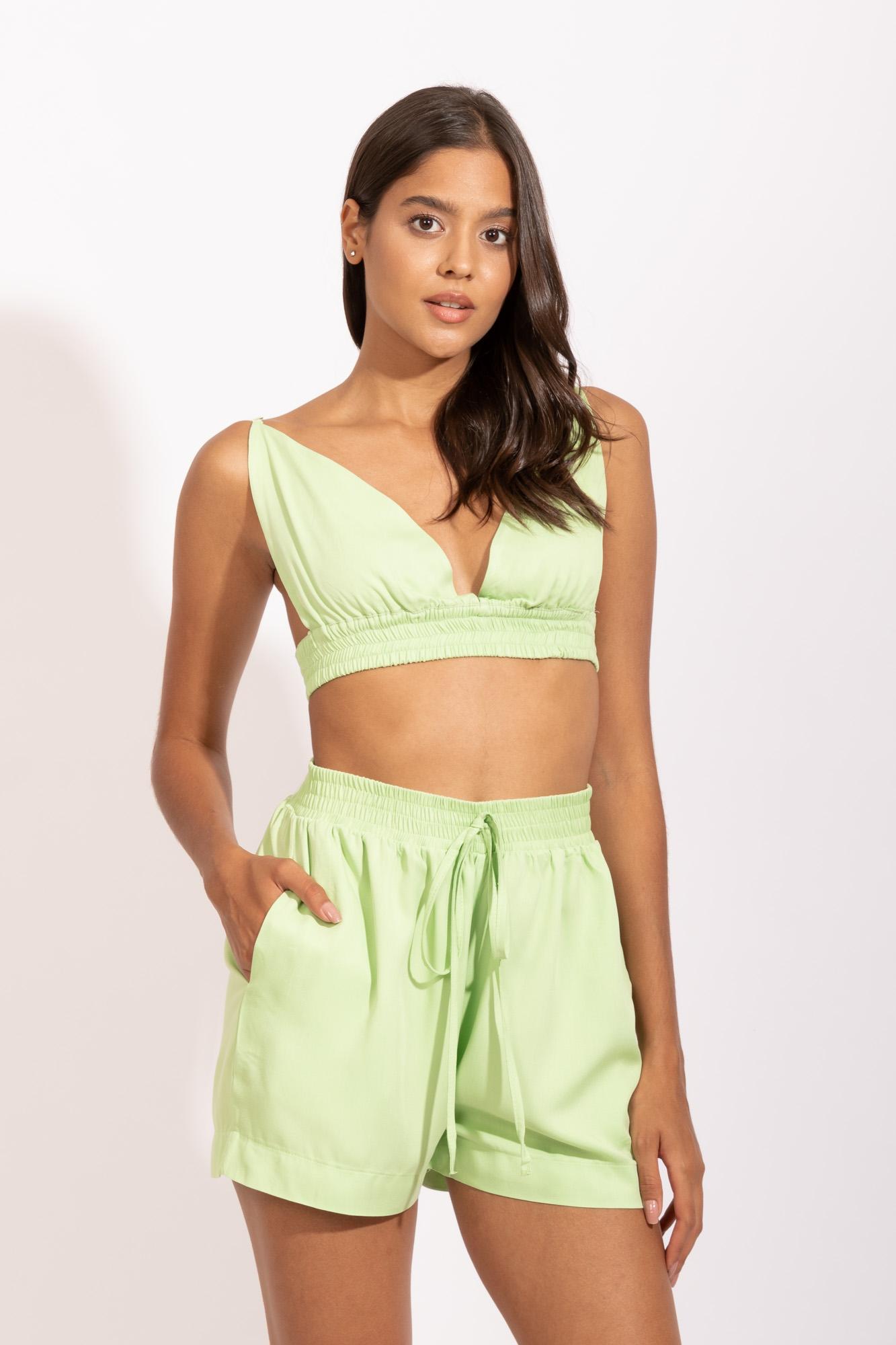 Short Elástico Limão