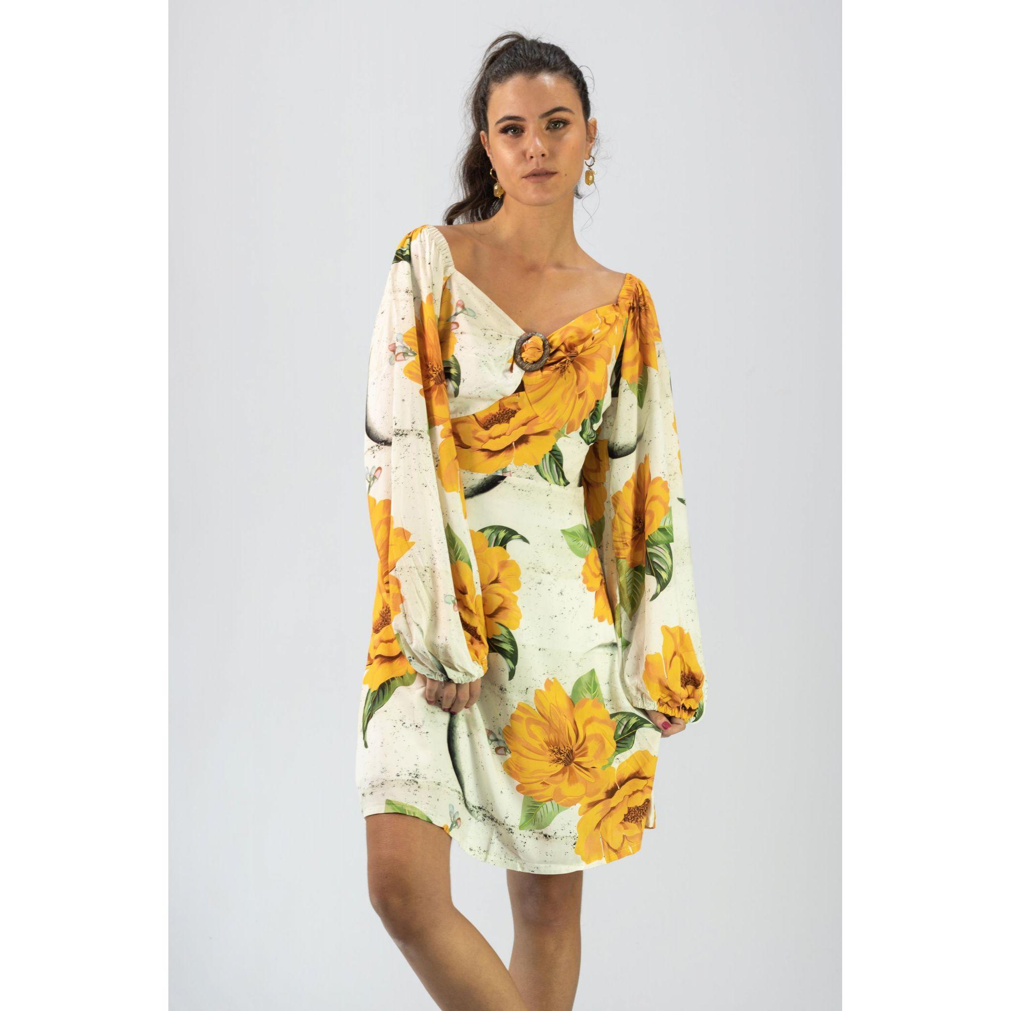 Vestido Maxi Floral