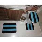 Kit de Tapete para banheiro Degradê SORTIDO 40cm x 50cm