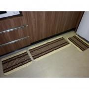 Kit de Tapete para Cozinha Jacquard SORTIDO 40cm x 100cm