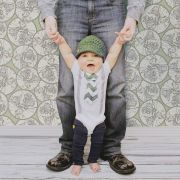 Papel de Parede Importado Geometrico para Quarto Infantil