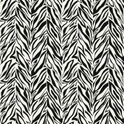 Papel de Parede Vinilico Preto e Branco Animal Print