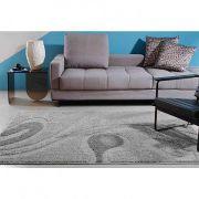 Tapete Oasis Jazz Des 04 Cinza 100 x 150