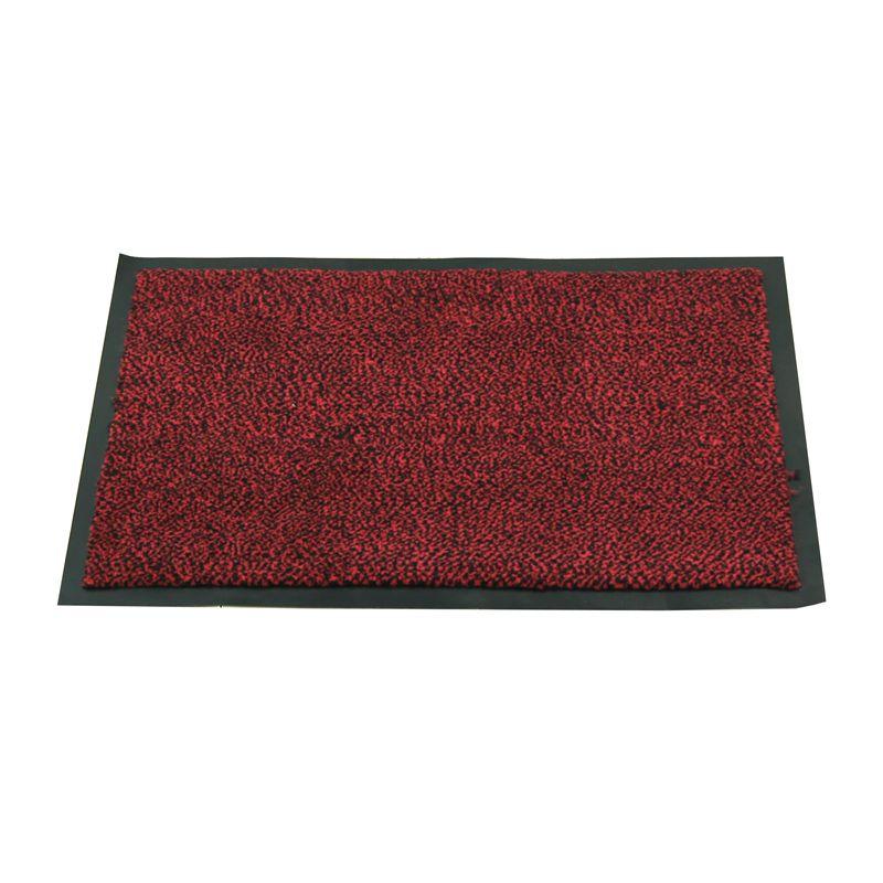 Capacho Vinil Confort - Tapete de Porta Vermelho 90 cm x 150 cm