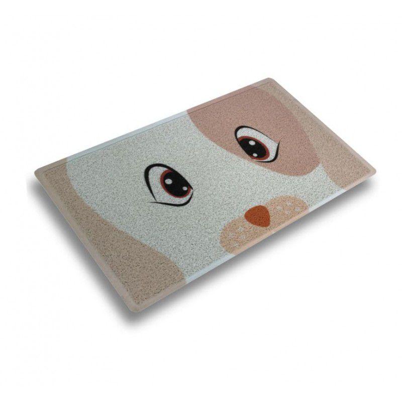Capacho Cachorro Bege 45 cm x 75 cm