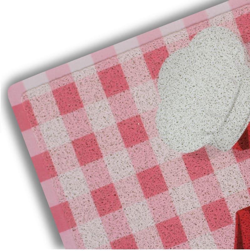 Capacho Cozinha Vermelho 45 cm x 75 cm