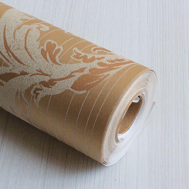 Papel de Parede Importado Dourado com Textura