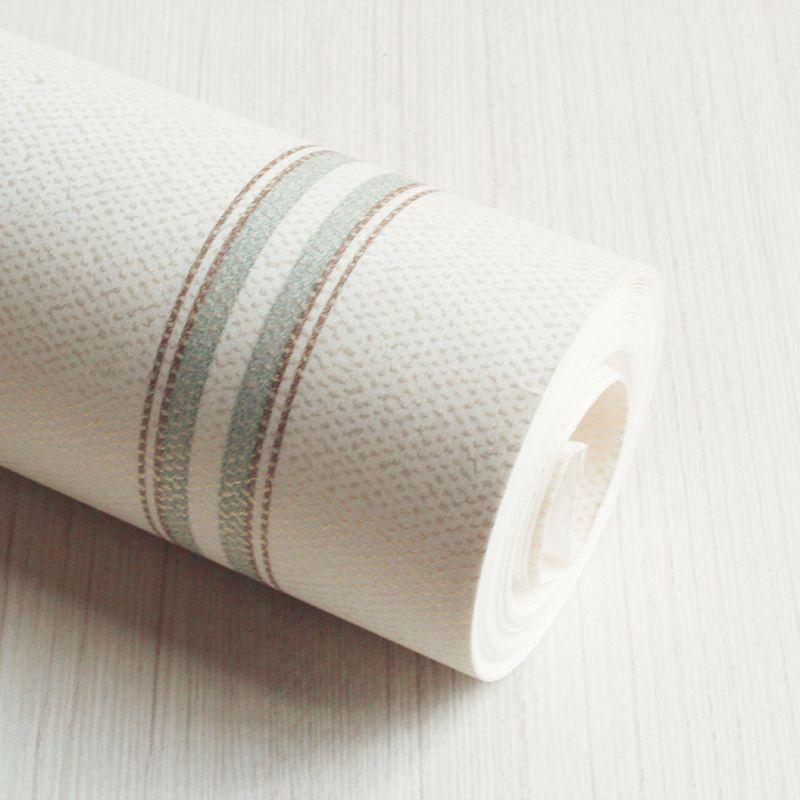 Papel de Parede Importado Verde Acinzentado Branco para Quarto