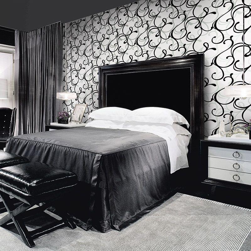 Papel de Parede Lavável Abstrato Branco para Quarto e Sala