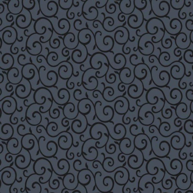 Papel De Parede Lavável Metálico Textura Preta