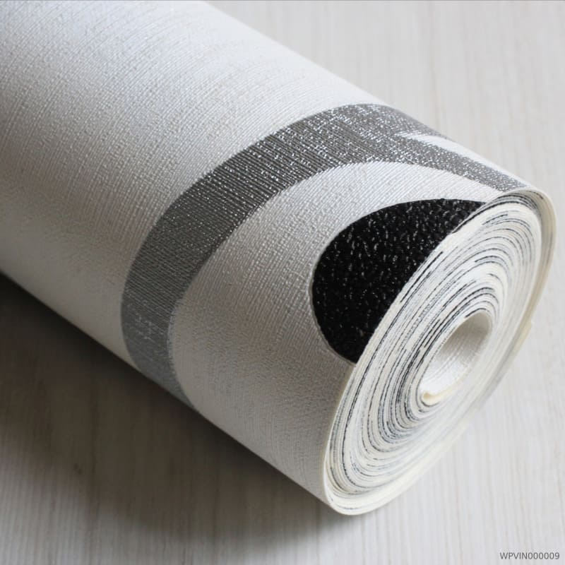 Papel de Parede Preto e Branco com Textura