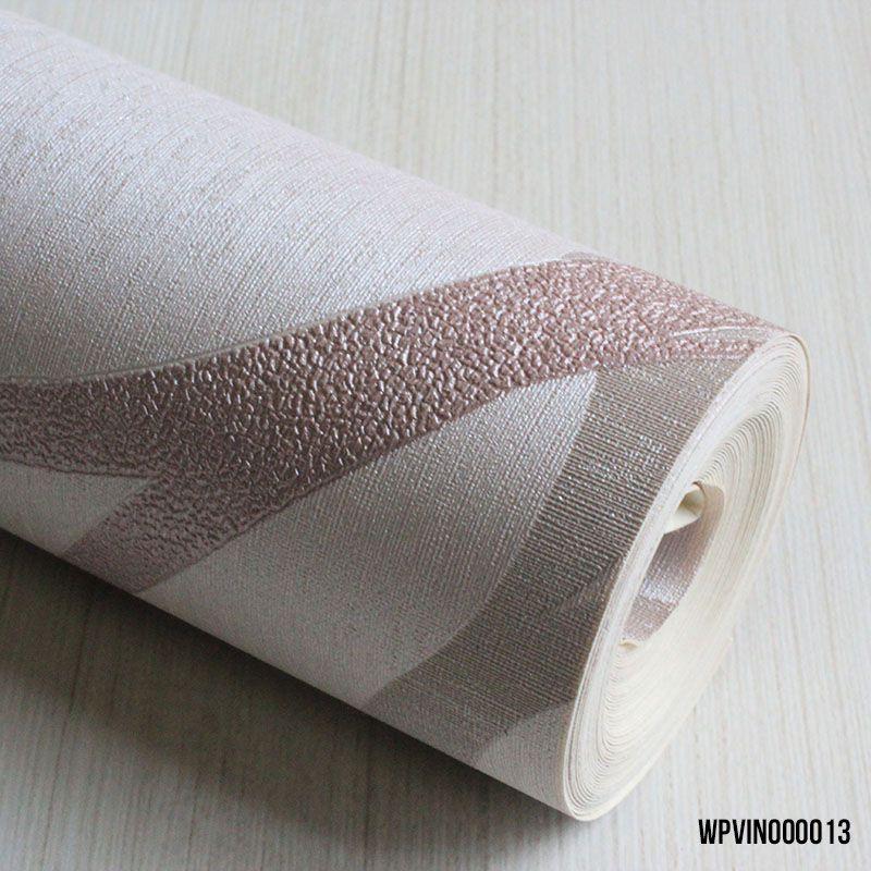 Papel de Parede Vinilico Rosa com Textura para Quarto