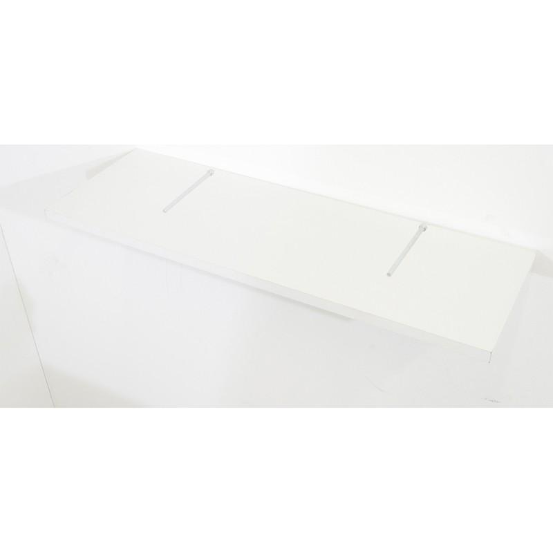 Prateleira MDP Branca 20 cm x 90 cm Suporte Invisível