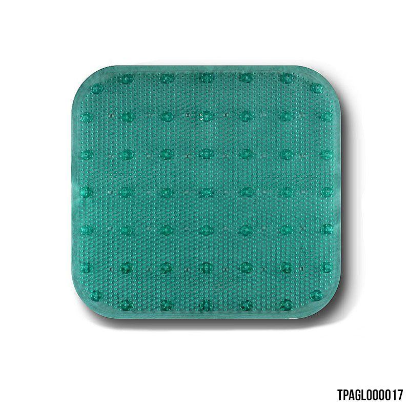 Tapete para Box Banheiro Verde 43 x 45 cm
