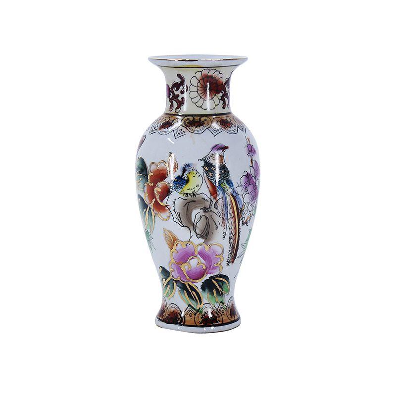 Vaso de Porcelana Pássaro
