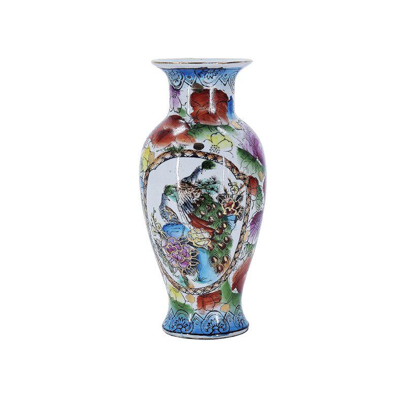 Vaso de Porcelana Pavão