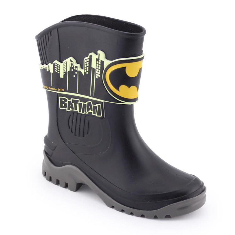 Bota Galocha Infantil DC Super Friends Batman - Grendene