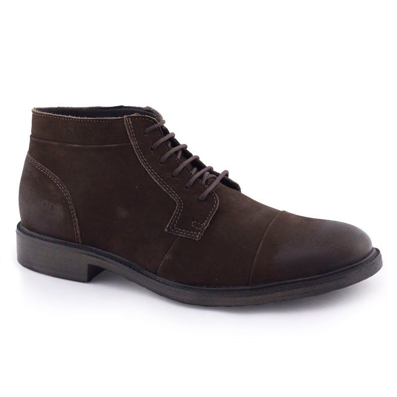 Bota Masculina 119103 Couro Garage Rust Space c NF Democrata