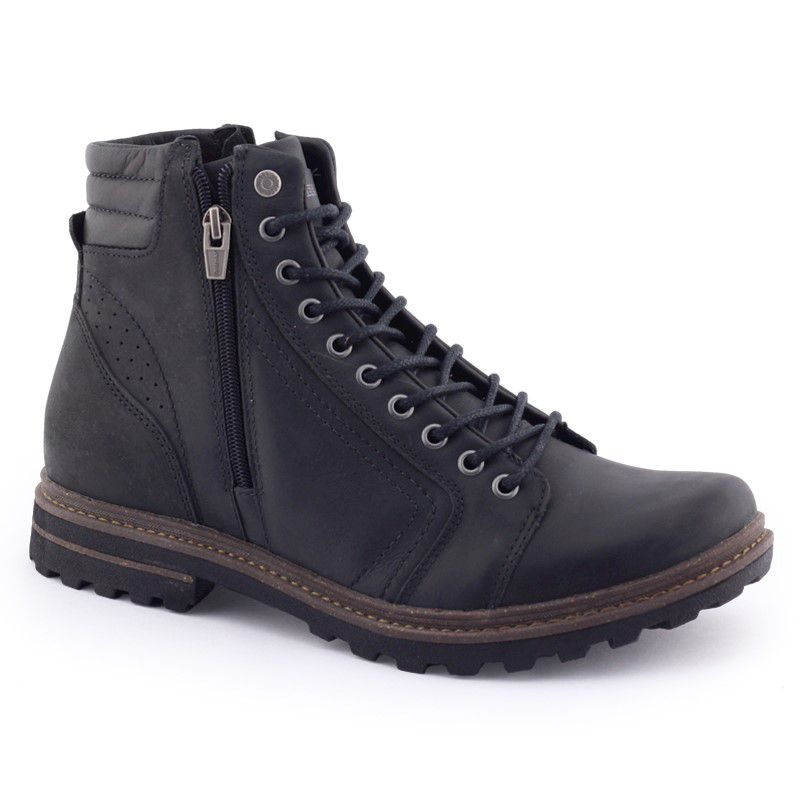 Bota Masculina Venture F costurada Original Couro Freeway
