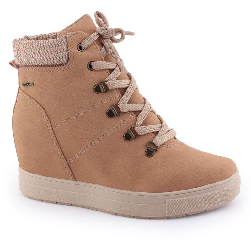 Bota Tênis feminina Sneaker G0791 flatform original - Dakota