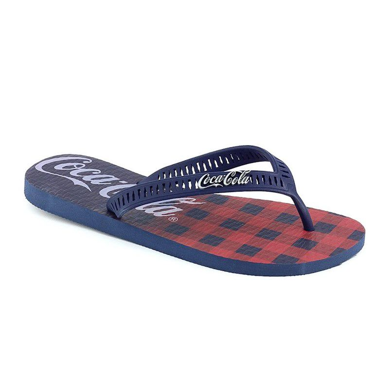 Chinelo Coca Cola Plaid