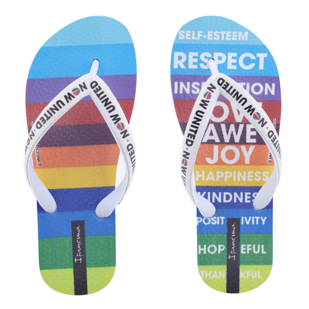 Chinelo Infantil Now United Ipanema Grendene 266 Colorido