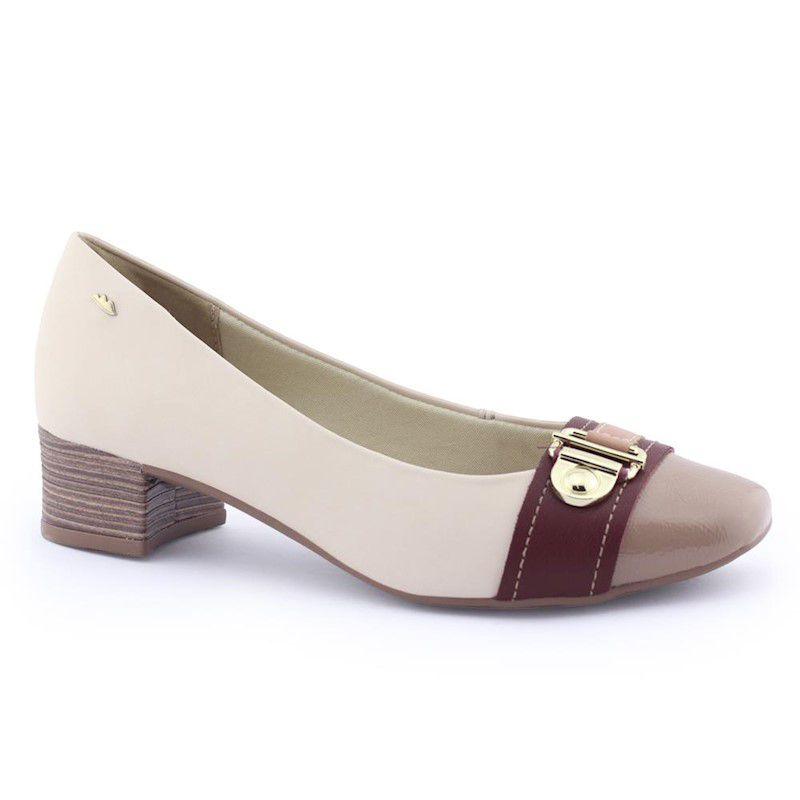 Sapato Feminino macio salto grosso robusto G1084 - Dakota