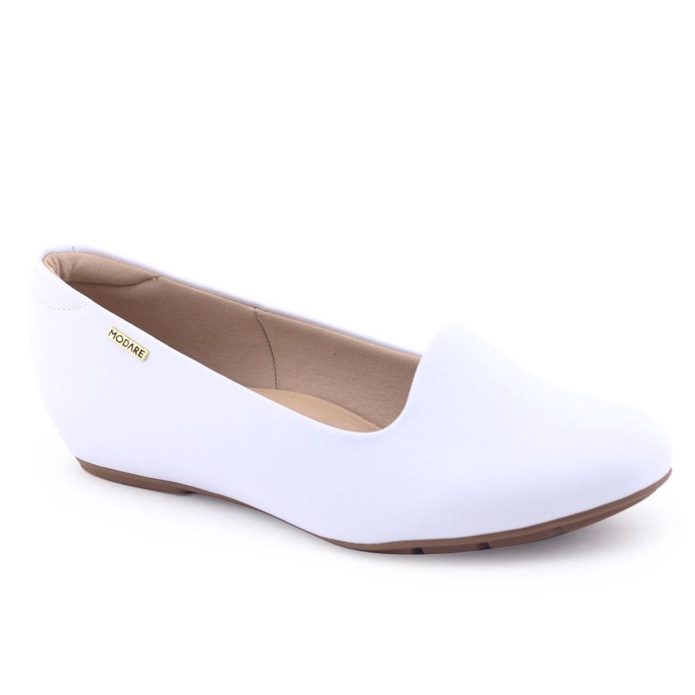 Sapato Feminino Modare Anabelado 4353.100 Dray Tech Branco