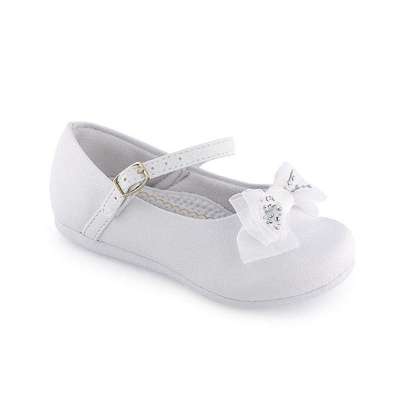 Sapato Feminino Pampili 04.808 branco