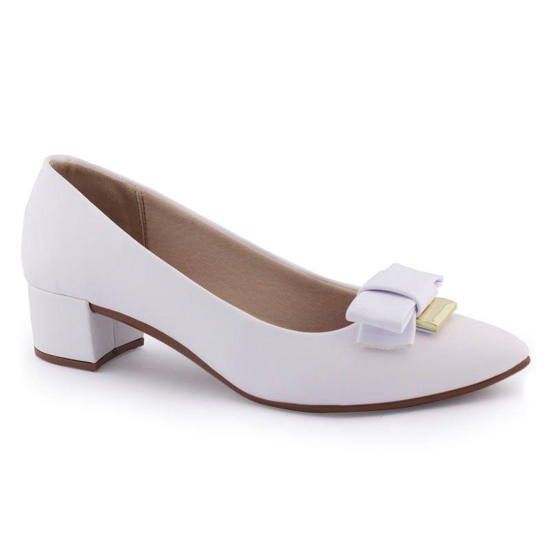 Sapato Feminino salto robusto baixo 4222 104 - Beira Rio
