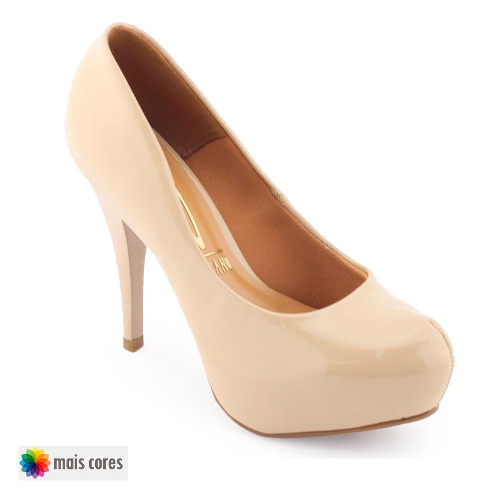 Sapato Feminino Vizzano 1143.309 verniz salto agulha