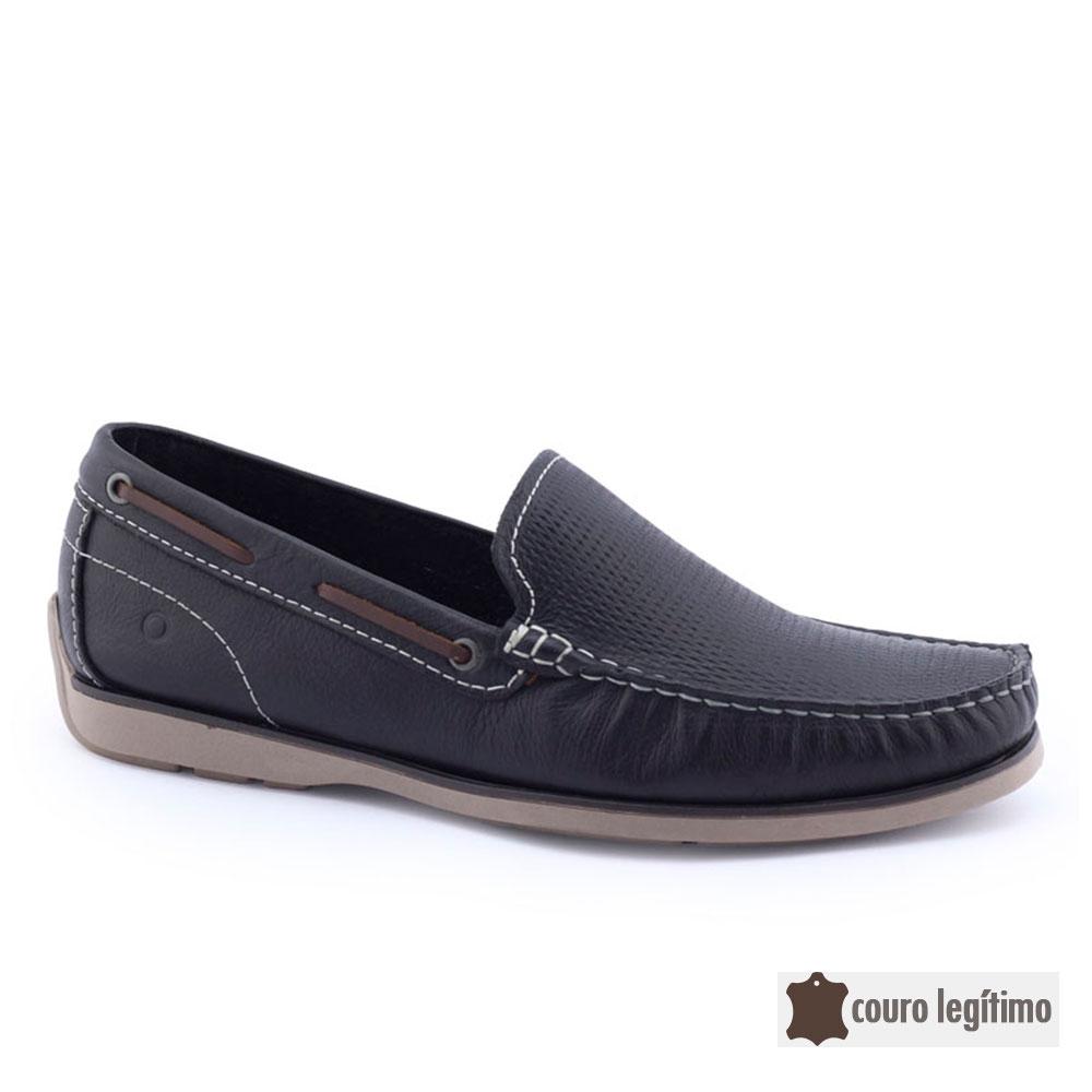 Sapato Masculino 135102 Mocassim Couro Democrata
