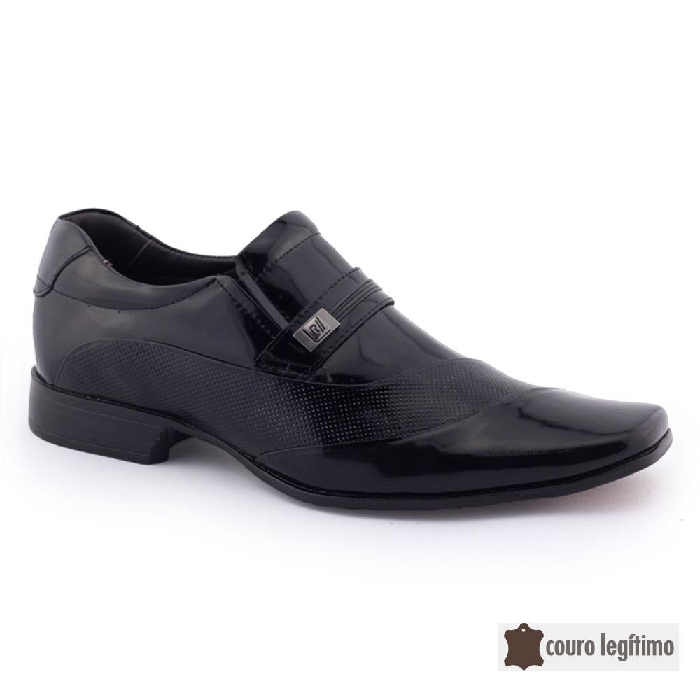 Sapato Masculino Social Verniz 79295 couro natural Rafarillo