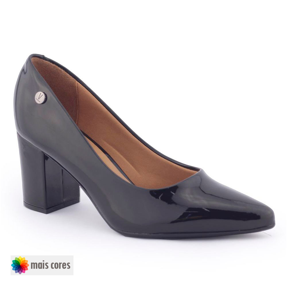 Sapato Scarpin Feminino Verniz 1290 400 robusto - Vizzano