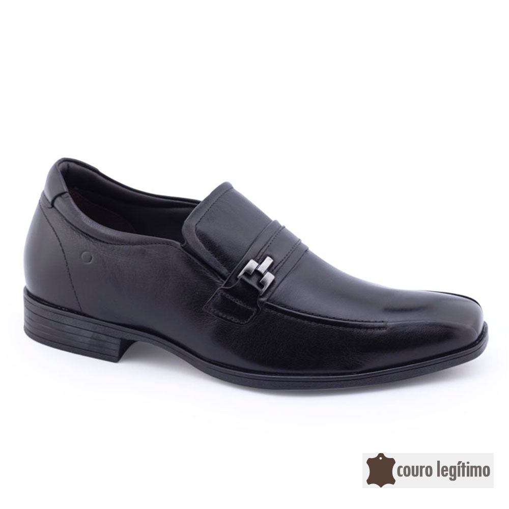 Sapato Social Masculino 191101 Couro cNF Democrata