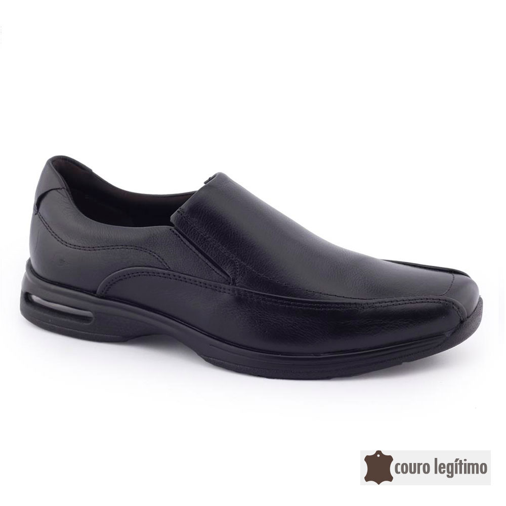 Sapato Social Masculino Couro 448027 AIR SPOT - Democrata