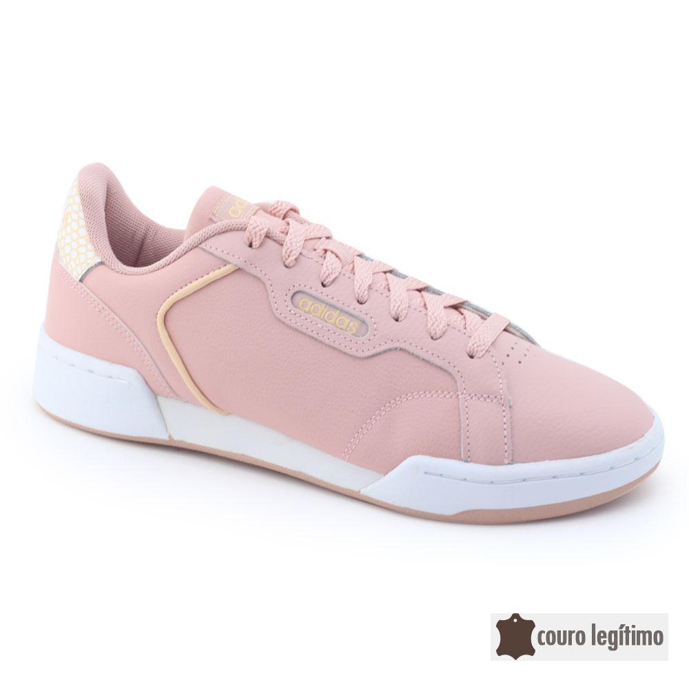 Tênis Adidas Ortholite Couro Natural Roguera EH1868 Training