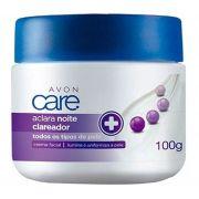 Avon Care Aclara Creme Facial Clareador Noite 100g