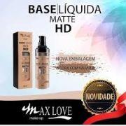 Base Liquida Matte HD com válvula Max Love