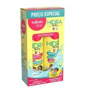 Kit Hidra Multy Kids com Shampoo + Condicionador Salon Line 300ML
