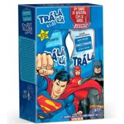 Kit Shampoo + Cond Tralala Kids Liga da Justiça 480ml
